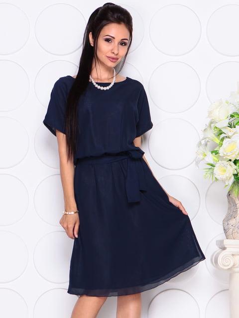 Платье темно-синее Laura Bettini 4619701