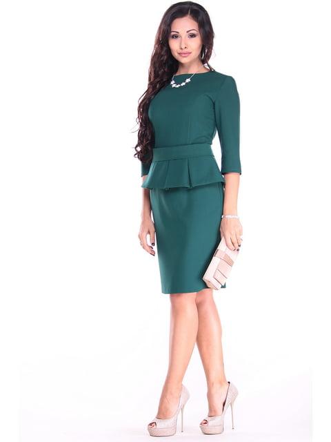 Сукня темно-смарагдового кольору Dioni 4619741