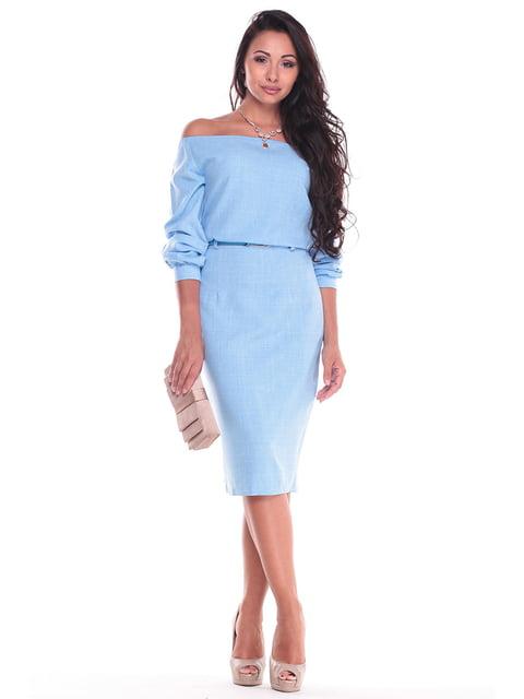 Сукня блакитна Dioni 4619747
