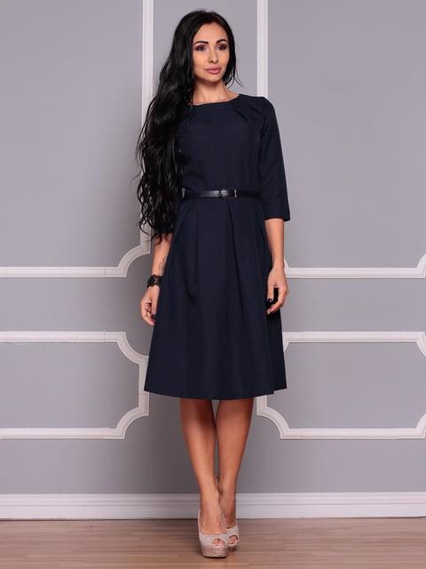 Платье черно-синего цвета Dioni 4619749