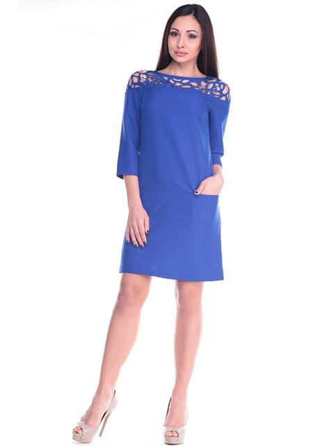 Платье цвета электрик Dioni 4619753