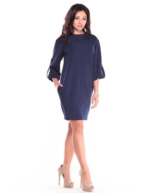 Сукня темно-синя Dioni 4619765