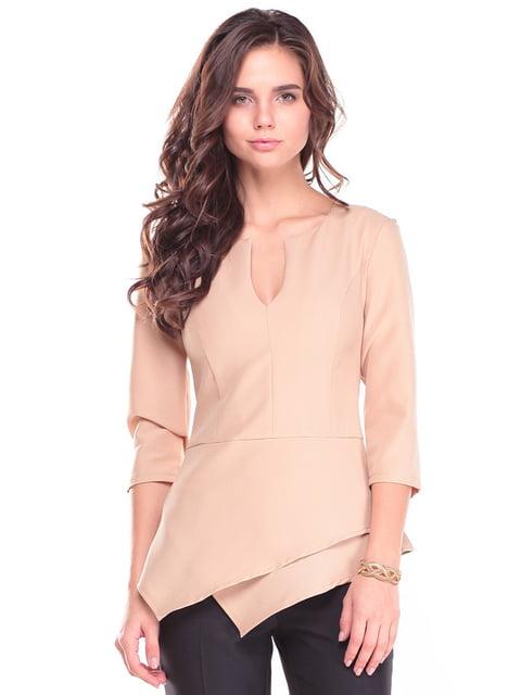 Блуза бежева Dioni 4619787