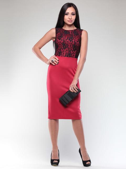 Платье красно-черное Maurini 4619912