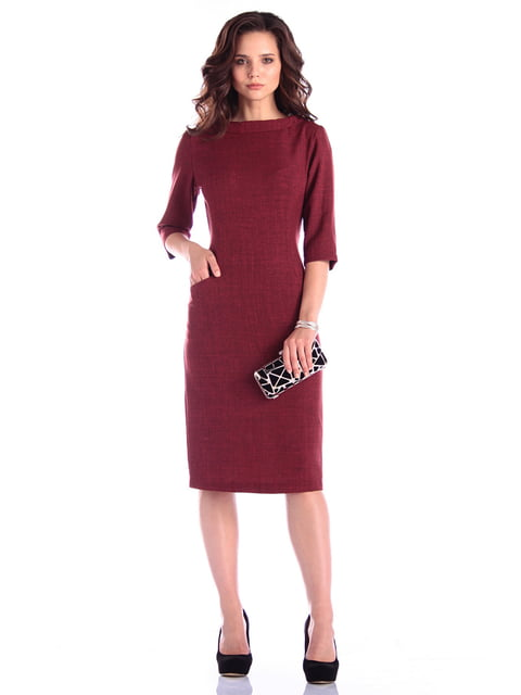 Платье светло-сливовое Maurini 4619952