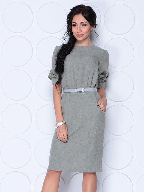 Сукня темно-оливкового кольору Rebecca Tatti 4620037