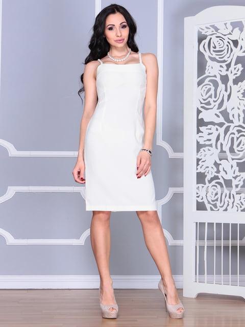 Платье молочного цвета Rebecca Tatti 4620059