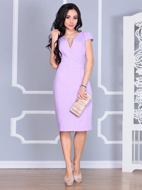 Платье светло-фиалкового цвета Rebecca Tatti 4620121