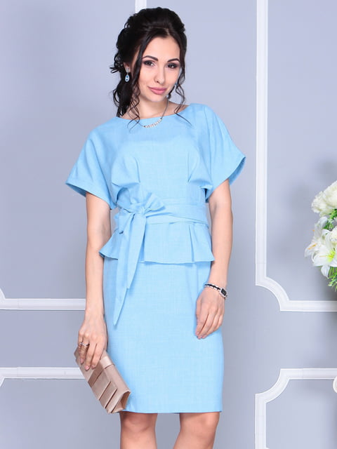 Сукня блакитна Rebecca Tatti 4620180