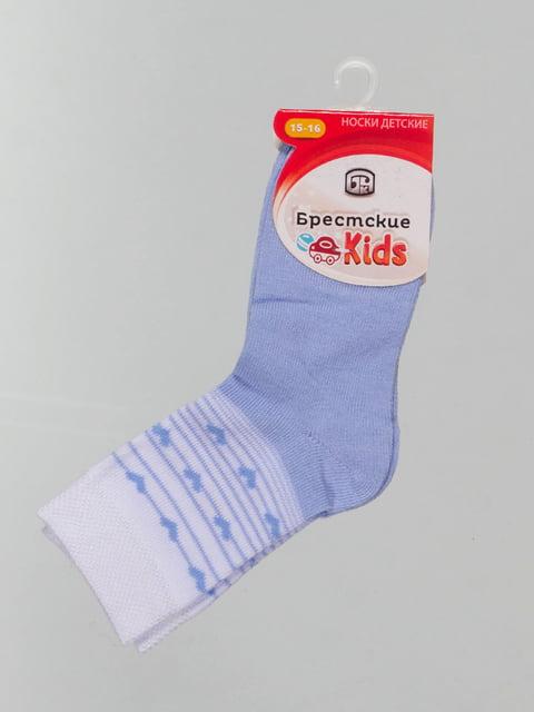 Шкарпетки блакитні з малюнком Conte Kids 4604376
