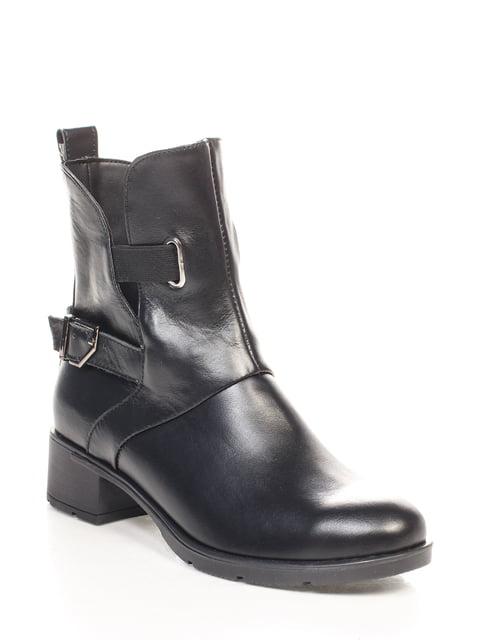 Ботинки черные Franzini 4618956