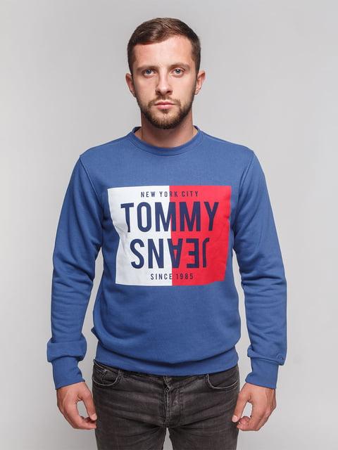 Світшот синій Tommy Hilfiger 4622649