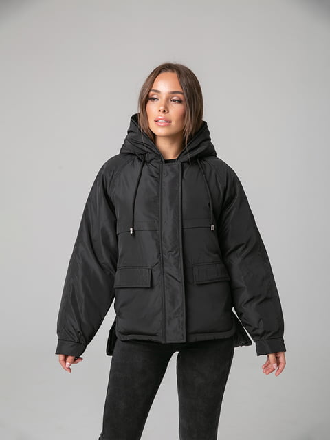 Куртка чорна White Fox 4588280