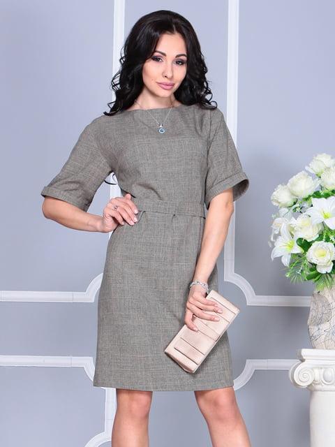 Сукня кольору бежевий хакі Laura Bettini 4619226