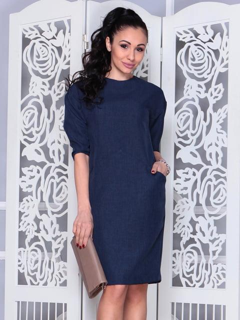 Платье темно-синее Laura Bettini 4619375
