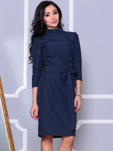 Сукня темно-синя Laura Bettini 4619398