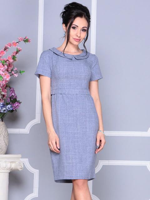 Платье цвета фиолетовой дымки Laura Bettini 4619445