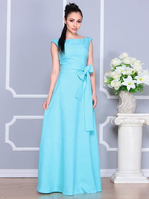Платье светло-бирюзовое Dioni 4619780