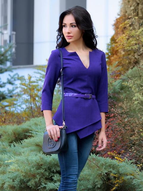 Блуза темно-фиолетовая Dioni 4619788