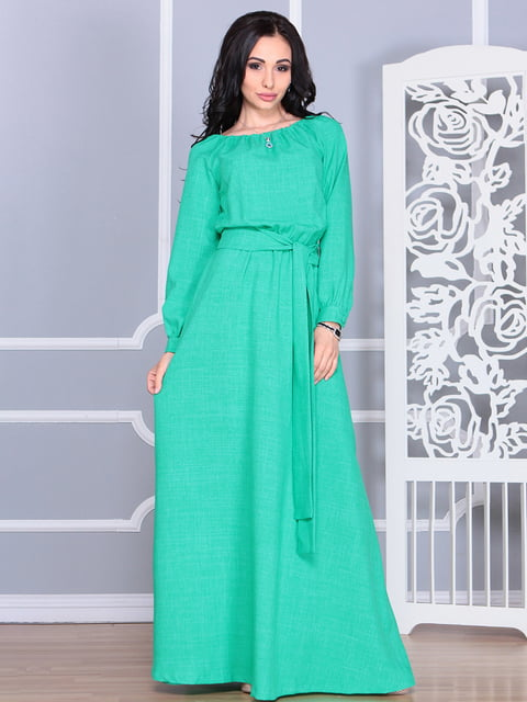 Платье зеленое Rebecca Tatti 4620157