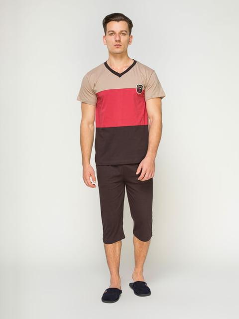 Пижама: футболка и бриджи Devino 4611269