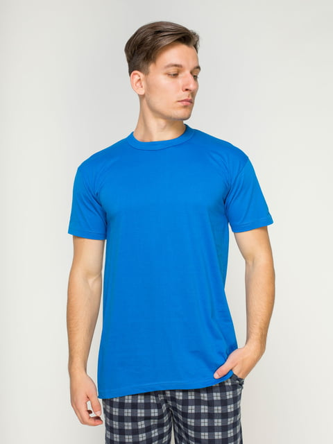 Футболка синя MEVSIM 4612031