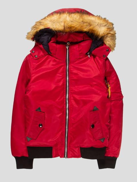 Куртка бордова Nature 4629717