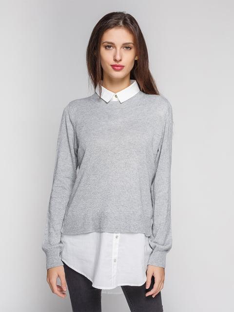 Джемпер серый H&M 3613455