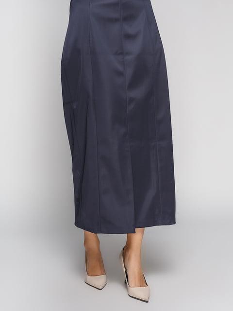 Спідниця темно-синя H&M 4595320