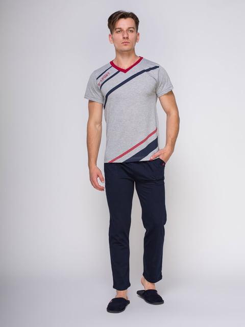 Пижама: футболка и брюки Devino 4611299