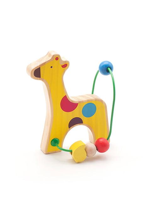 Розвивальна іграшка-лабіринт «Жираф» Lucy&leo 4635203