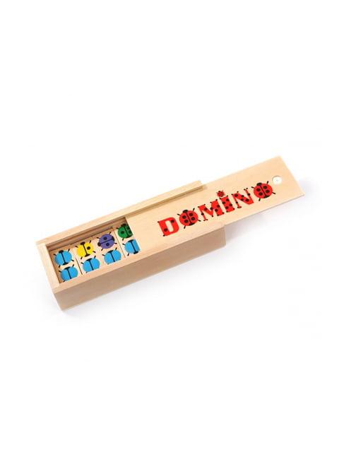 Розвивальна іграшка доміно «Сонечко» Игрушки из дерева 4635235