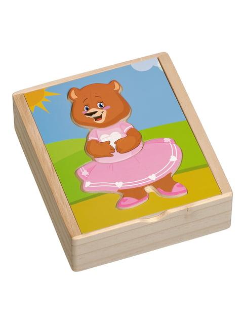 Розвивальна іграшка «Ведмедик Катя» Игрушки из дерева 4635249