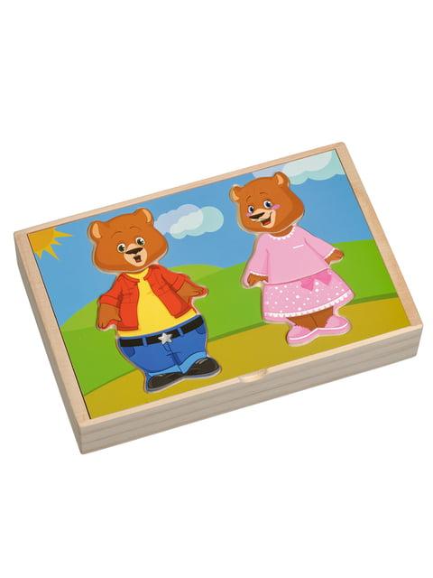 Розвивальна іграшка «Два ведмеді» Игрушки из дерева 4635251