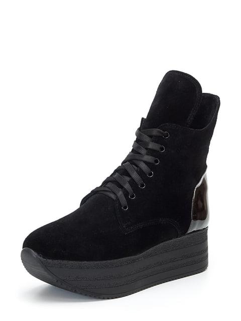 Ботинки черные Tops 4617489