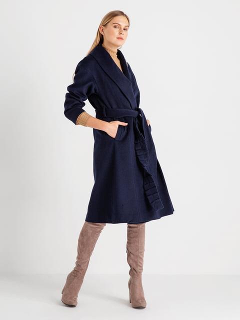 Пальто темно-синє BGN 4641969