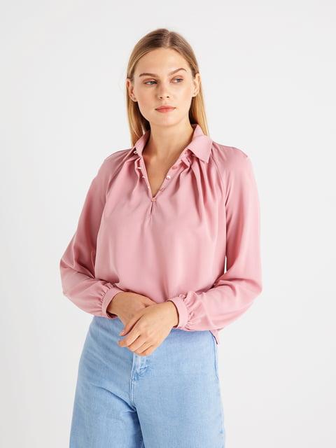 Блуза кольору пудри BGN 4641977