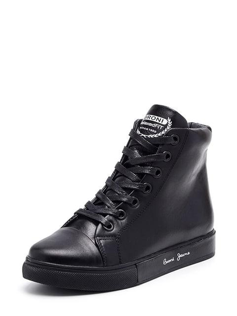 Ботинки черные Broni 4643372