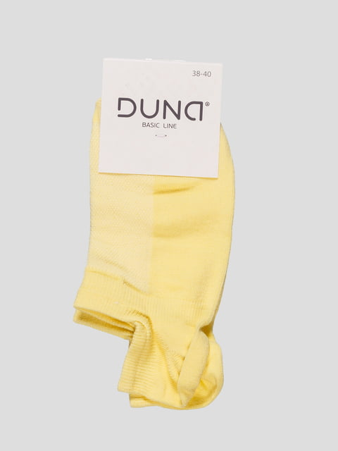 Шкарпетки світло-жовті Duna 4568380
