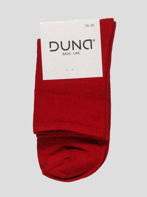 Шкарпетки вишневого кольору Duna 4568344