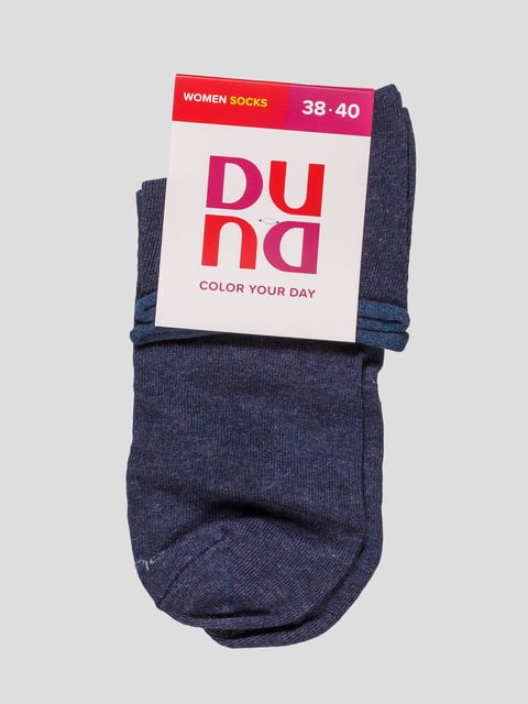 Шкарпетки джинсового кольору Duna 4568341