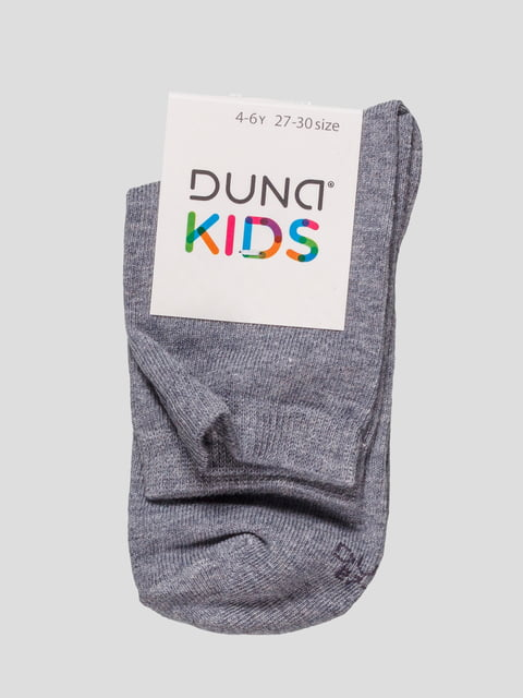 Шкарпетки сіро-блакитні Duna 4568373