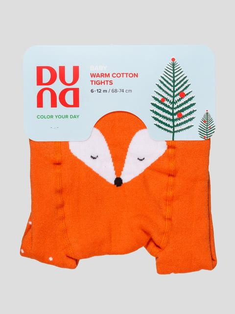 Колготки оранжевые Duna 4568301