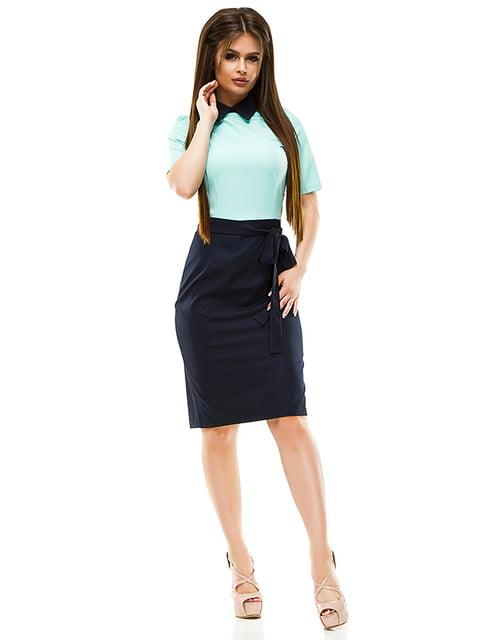Сукня двоколірна ELFBERG 4613802