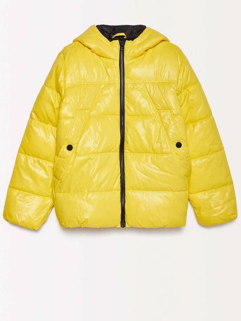 Куртка желтая Benetton 4602542