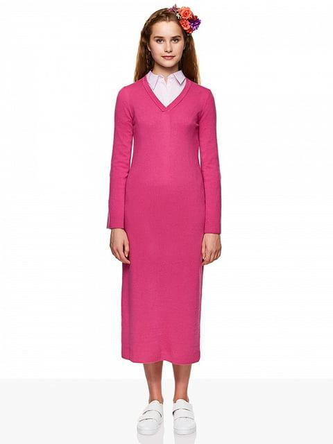Платье розовое Benetton 4607051