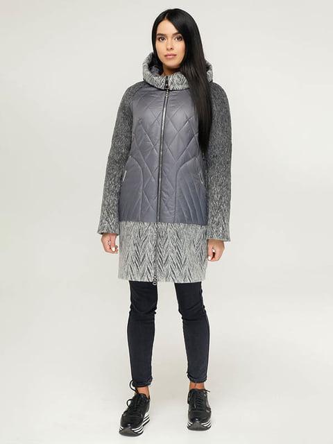 Пальто серое Favoritti 4643444