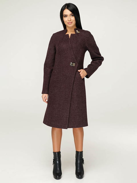 Пальто коричневое Favoritti 4643481