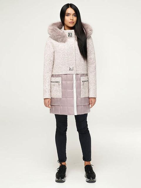 Пальто белое Favoritti 4643494
