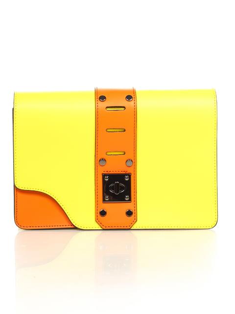 Сумка жовта Amelie Pelletteria 4639802